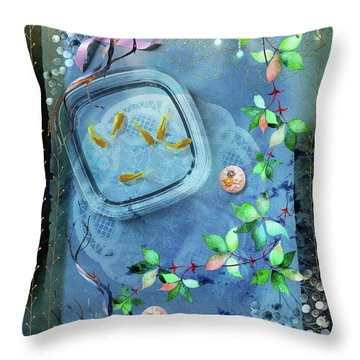 Fragility Of Life Throw Pillow
