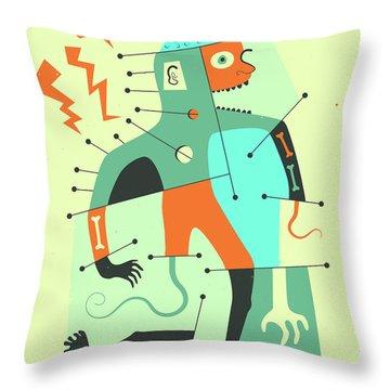 Pop Surrealism Throw Pillows