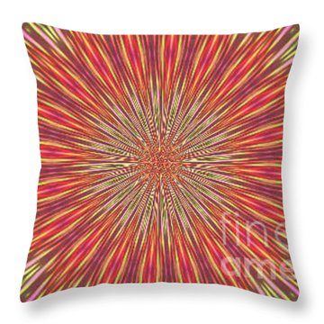 Frazzeled Throw Pillow