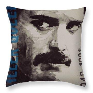 Freddie Mercury Throw Pillows