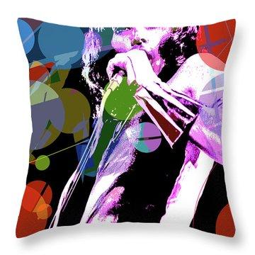 Freddy Mercury Queen Throw Pillow