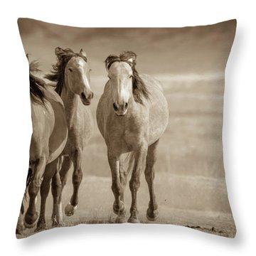 Free Family 2 Throw Pillow