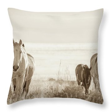 Free Family 3 Throw Pillow