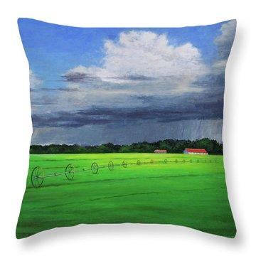 Free Rain Throw Pillow