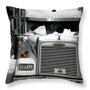 Freightliner Throw Pillows