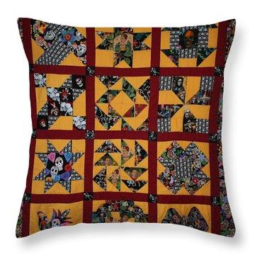Frida Quilt Throw Pillow