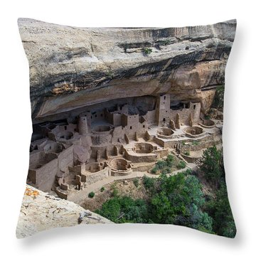 From Above The Rim Throw Pillow