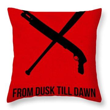 From Dusk Til Dawn Throw Pillow