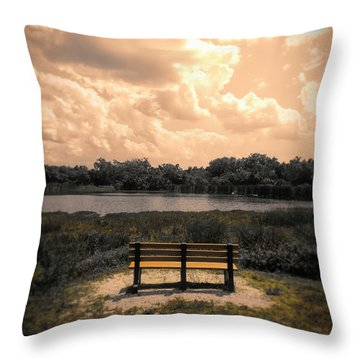 From Here To Eternity Throw Pillow