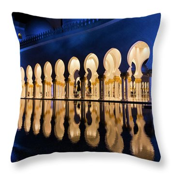 From The Outside In Throw Pillow