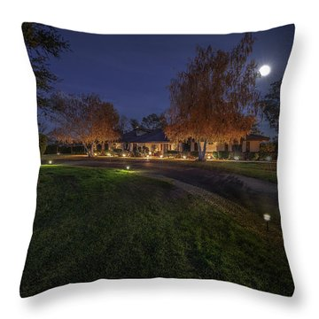 Front Throw Pillow