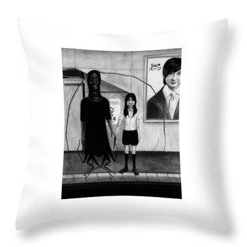 Fukitsuna - Artwork Throw Pillow