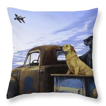 Full Load Throw Pillow