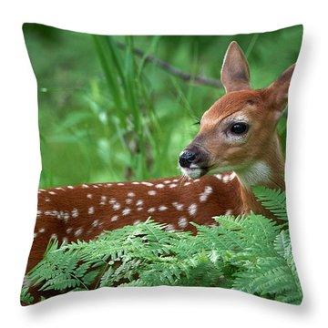 Future Buck Throw Pillow