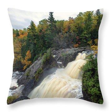 Gabbro Falls 2 Throw Pillow