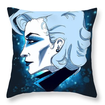Gaga Throw Pillow