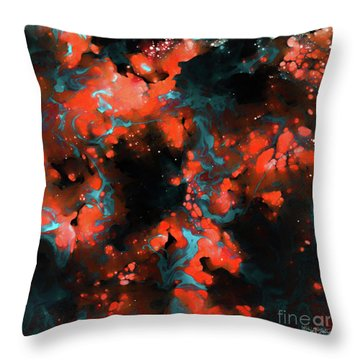 Galatians 2 20. Crucified With Christ Throw Pillow