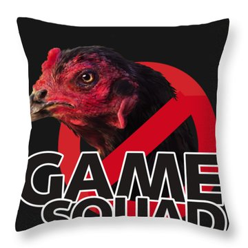 Game Squad Throw Pillow