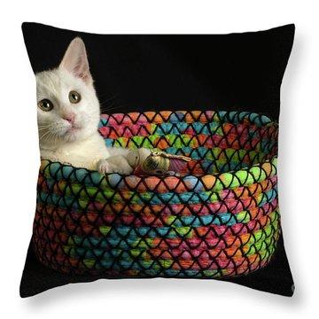 Gandalf's Basket Throw Pillow