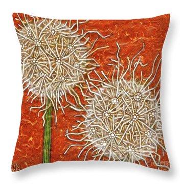 Garden Room 32 Throw Pillow