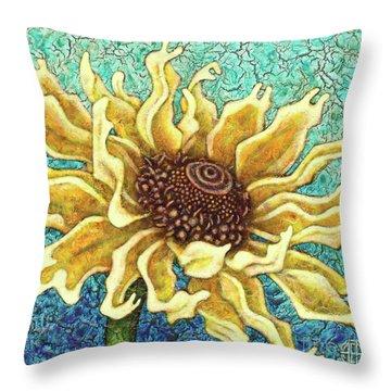 Garden Room 34 Throw Pillow