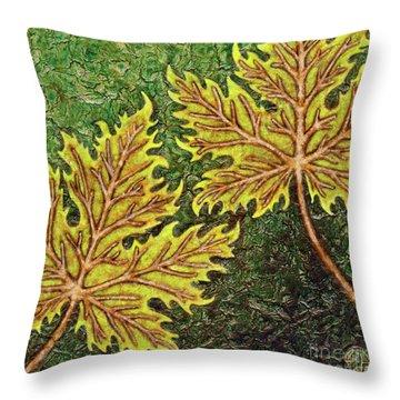 Garden Room 35 Throw Pillow