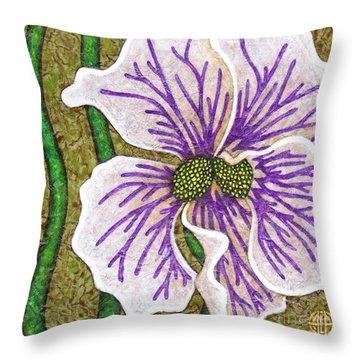 Garden Room 40 Throw Pillow