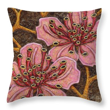 Garden Room 41 Throw Pillow