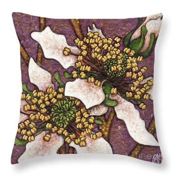 Garden Room 44 Throw Pillow