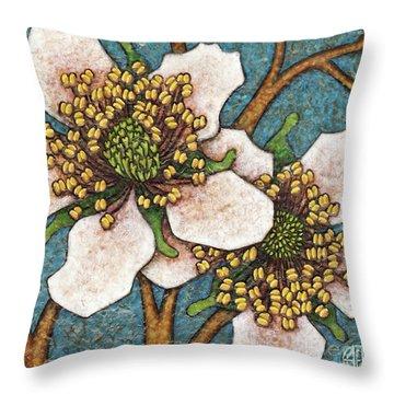 Garden Room 45 Throw Pillow