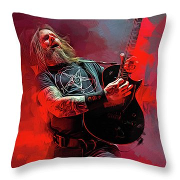 Gary Holt, Slayer Throw Pillow