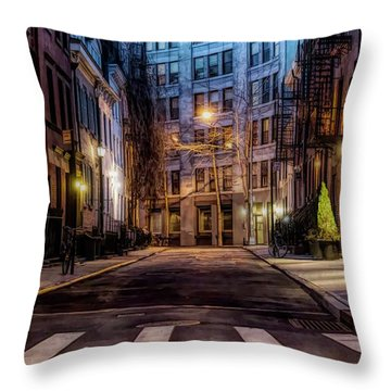 Gay Street Greenwich Village Throw Pillow