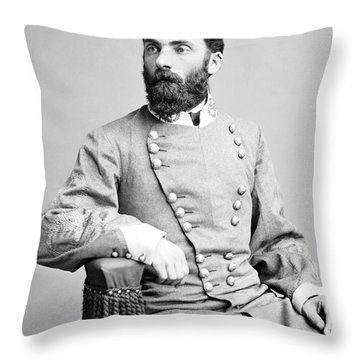 General Joseph Wheeler Portrait Throw Pillow
