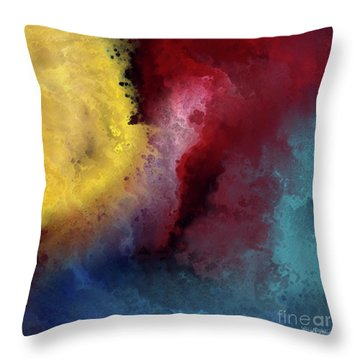 Genesis 1 3. Let There Be Light Throw Pillow