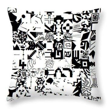Genius2_25052019 Throw Pillow