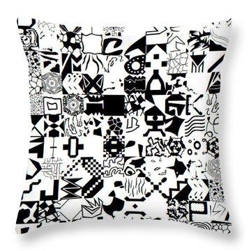 Genius3_25052019 Throw Pillow