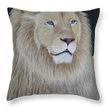 Gentle Paws Throw Pillow