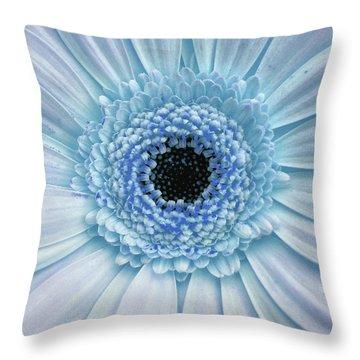 Gerber Rainbow Blue Throw Pillow