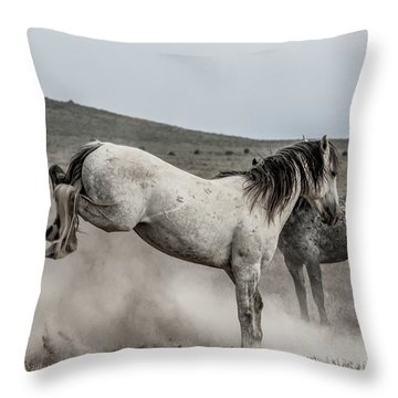 Getting Some Air Throw Pillow
