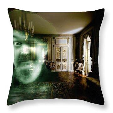 Ghost Of Dr. John Throw Pillow