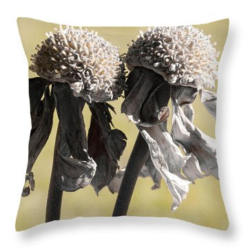 Ghost Sisters Throw Pillow