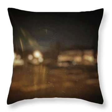 ghosts I Throw Pillow