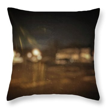Throw Pillow featuring the photograph ghosts I by Steve Stanger