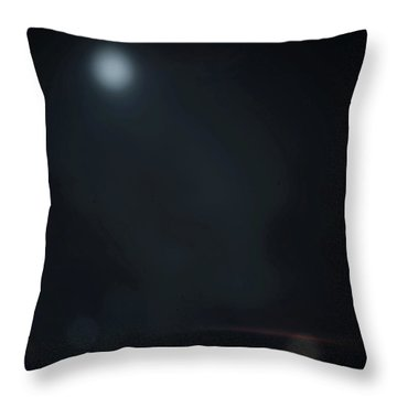 ghosts II Throw Pillow