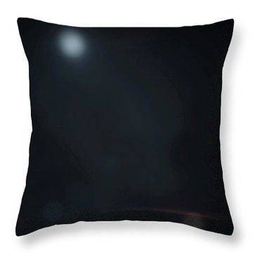 Throw Pillow featuring the photograph ghosts II by Steve Stanger