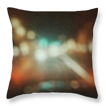 ghosts V Throw Pillow