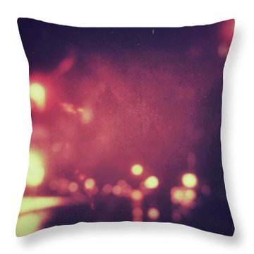 Throw Pillow featuring the photograph ghosts VI by Steve Stanger