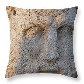 Giant Head Of Heracles,  Tumulus Throw Pillow