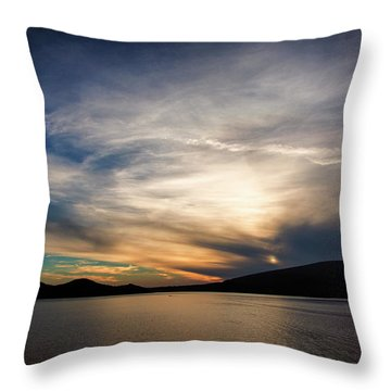 Gibsons Sunset Throw Pillow