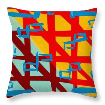 Gilipollez Number One Throw Pillow